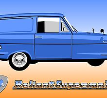 Reliant Supervan II by car2oonz