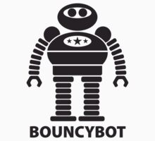 BOUNCYBOT (black) by jodalry