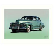 1941 Cadillac Series 61 Sedan 'Studio' Art Print