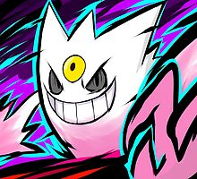Shiny Mega Gengar | Nightmare by ishmam