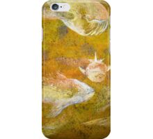 Happy Accident Luminous Ghost Fish Painting - Section 3 iPhone Case/Skin