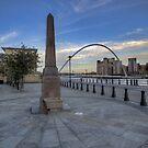 Newcastle Quayside by Trevor Kersley