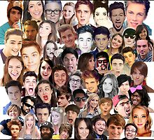 Youtuber Collage by elisepy
