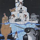 Penguin Party by BizarreBunny