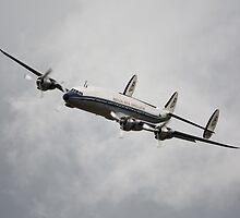 Lockheed Constellation by Nigel Bangert