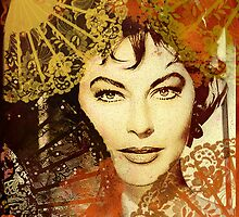 Ava Gardner among fans by PrivateVices