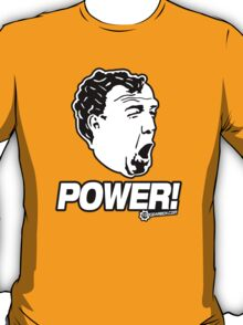 Top Gear - Jeremy Clarkson POWER!! T-Shirt