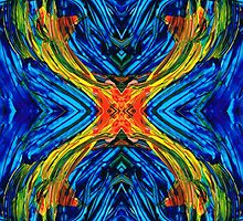 Modern Art - Xuberant - By Sharon Cummings by Sharon Cummings