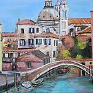 Venice's canals by Teresa Dominici