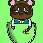 Pocket Tom Nook by Lauramazing