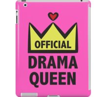 Official Drama Queen iPad Case/Skin