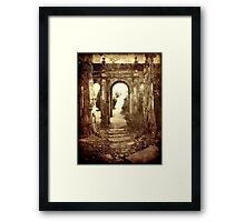 The Archway (Aged) Framed Print