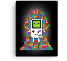 Throne of Tetris Canvas Print
