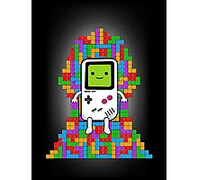 Throne of Tetris Photographic Print