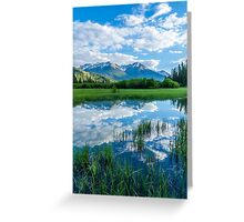 Vermilion Lakes Greeting Card