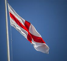 English Flag by Jack Steel