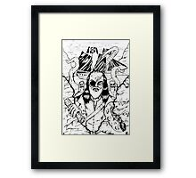 The Pirate Octopus  Framed Print