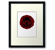 Solitude Seal Framed Print