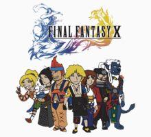 Final Fantasy 10 Characters T-Shirt
