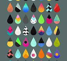 Colorful Rain by Elisabeth Fredriksson