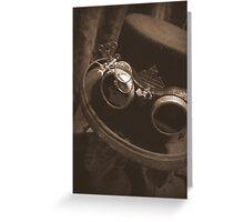 Steampunk Gentlemen's Hat 1.1 Greeting Card