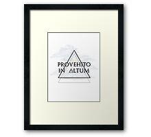Provehito in altum Framed Print