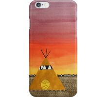 Tepee or Not Tepee original painting iPhone Case/Skin