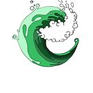 Green Eco Wave by ElisaLeFreak