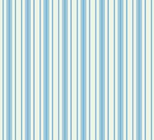 Blue vertical retro stripes by o2creativeNY