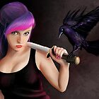The Raven Girl by Richard Eijkenbroek