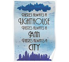 There's Always a Lighthouse Poster