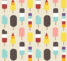 Ice Lollies & Frozen Treats by Lisa Marie Robinson