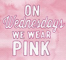 On Wednesdays We Wear Pink by Jade Jones