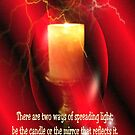 Spread The Light of God by Marie Sharp