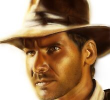 Indiana Jones by danielctuck