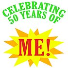 Celebrating 50th Birthday by thepixelgarden