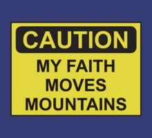 My Faith Moves Mountains by discipledarren