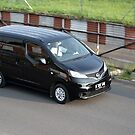 black colored nissan evalia by bayu harsa