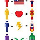 Avengers Math by mjcowan