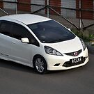 white colored honda jazz RS by bayu harsa
