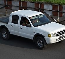 white colored ford everest by bayu harsa
