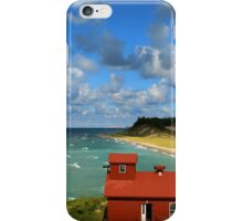 Fog Signal and Lakeshore iPhone Case/Skin