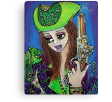 Poppet Pirate at Chameleon Cove Canvas Print