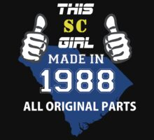 This South Carolina Girl Made in 1988 by satro