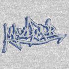 Graffiti Mazda Mob Blue by kandikittin
