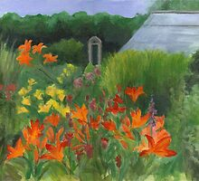 Vermont Garden by Barbara Weir