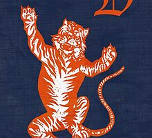 Original Detroit Tigers Logo (Unofficial) by Bigups