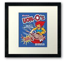 Lion-O's Cereal Framed Print