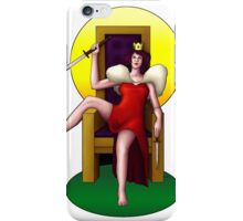 Queen of Swords iPhone Case/Skin