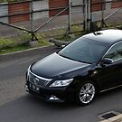 black colored toyota camry by bayu harsa